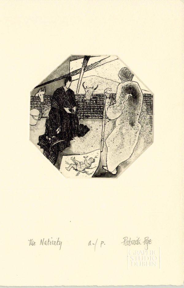 Graphic Studio Dublin: Patrick Pye, The Nativity