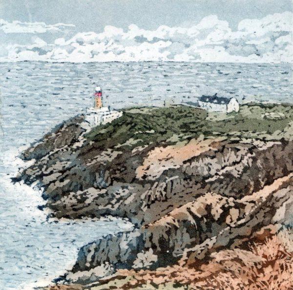 Graphic Studio Dublin: Susan Early, Baily Lighthouse III