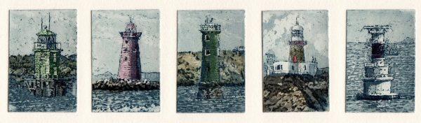 Graphic Studio Dublin: Susan Early, Leaving Dublin Port