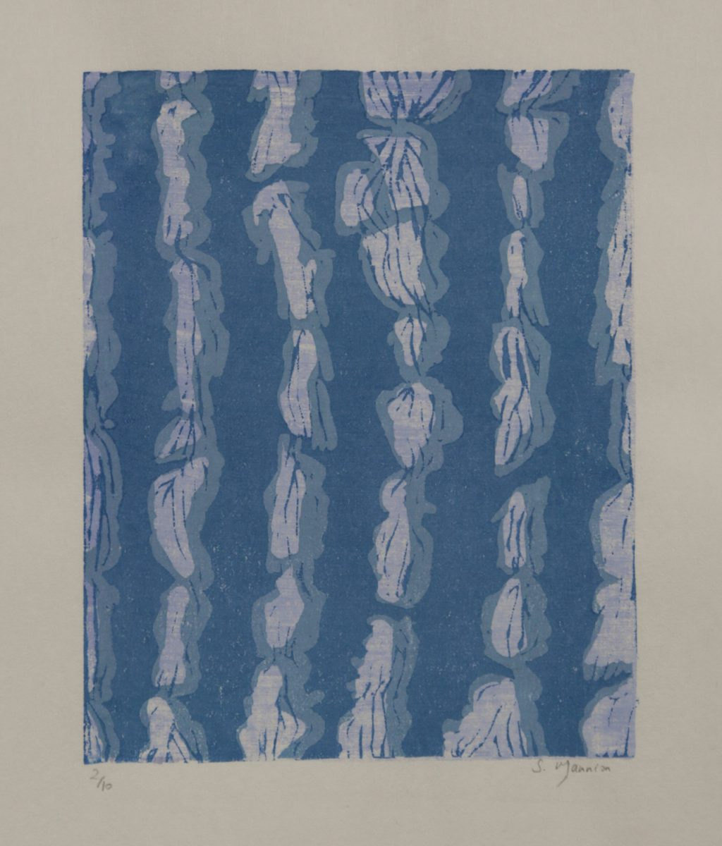 Graphic Studio Dublin: Susan Mannion, Shibori II
