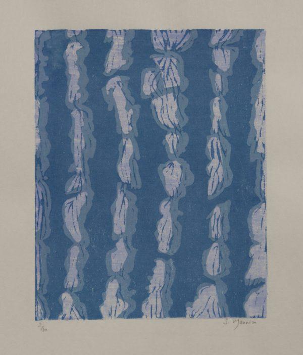Graphic Studio Dublin: Susan Mannion, Shibori II