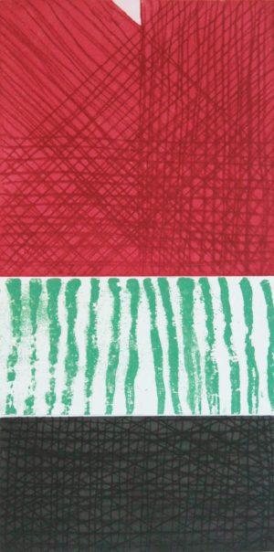 Graphic Studio Dublin •John Noel Smith: Graphic Studio Dublin: Untitled (Red, Green, Black)