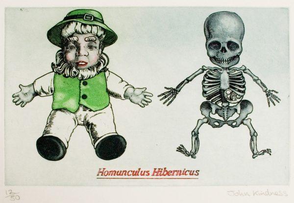 Graphic Studio Dublin: John Kindness, Homunculus Hibernicus
