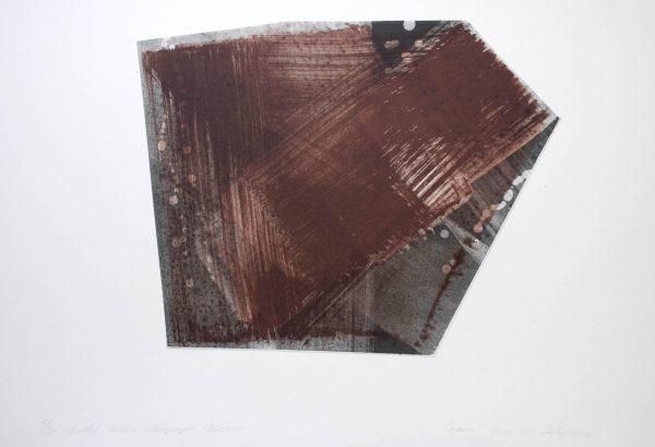 Graphic Studio Dublin: Ciaran Lennon, Folded Tusche Lithograph