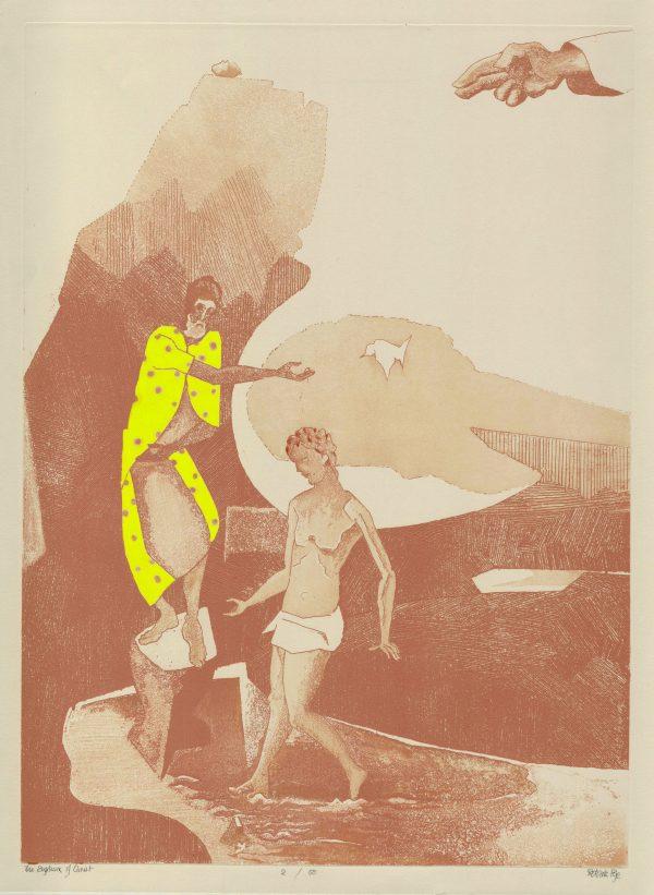 Graphic Studio Dublin: Patrick Pye, The Baptism of Christ