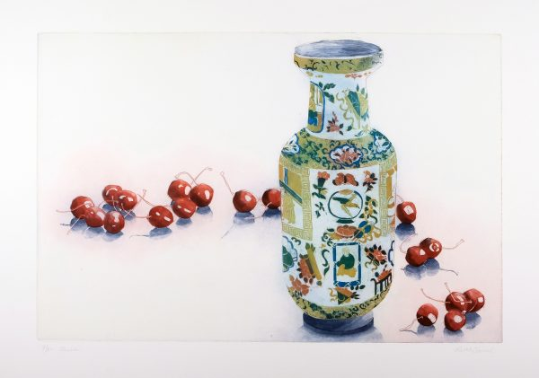 Graphic Studio Dublin: Ruth O'Donnell, Cherries