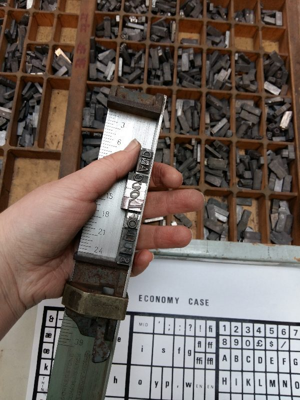 Graphic Studio Dublin: Letterpress Weekend Workshop: 9 & 10 November