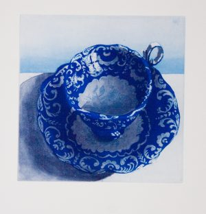 Graphic Studio Dublin • Ruth O'Donnell: Graphic Studio Dublin: Baroque Blue Cup