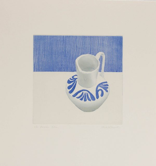 Graphic Studio Dublin: Ruth O'Donnell, Persian Blue