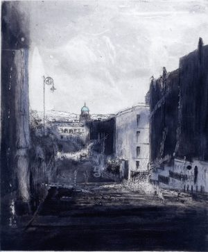 Graphic Studio Dublin • Ailbhe Barrett: Graphic Studio Dublin: View from Mountjoy Square