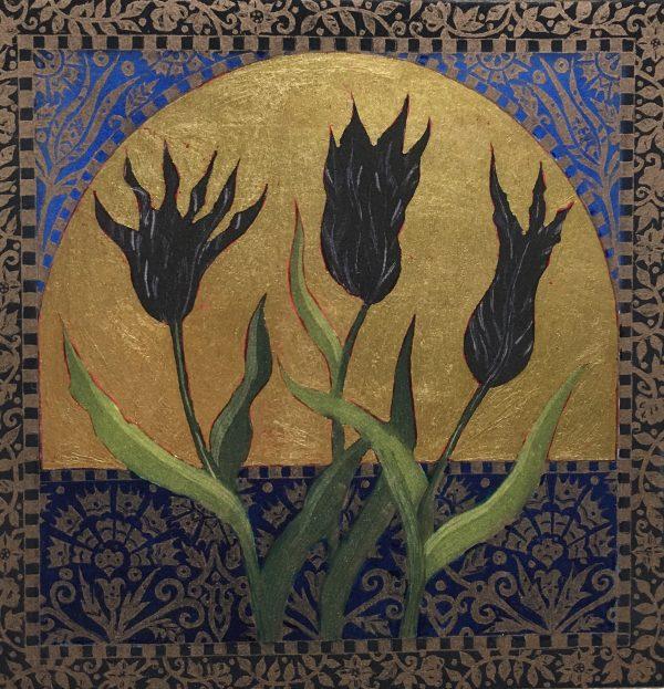 Graphic Studio Dublin: Jean Bardon, Winter Irises