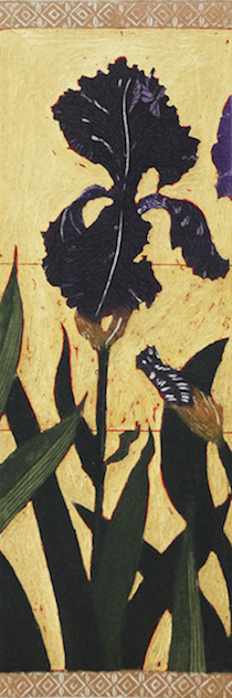 Graphic Studio Dublin • Jean Bardon: Graphic Studio Dublin: Detail Iris II, Jean Bardon