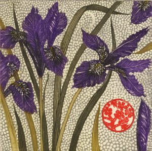 Graphic Studio Dublin • Jean Bardon: Graphic Studio Dublin: Winter Irises