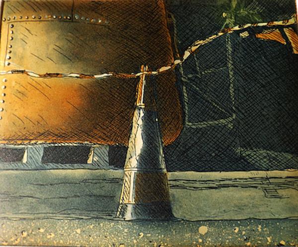 Graphic Studio Dublin: Julie Ann Haynes, Midnight