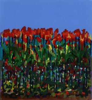 Graphic Studio Dublin: Bernadette Madden, Tulips