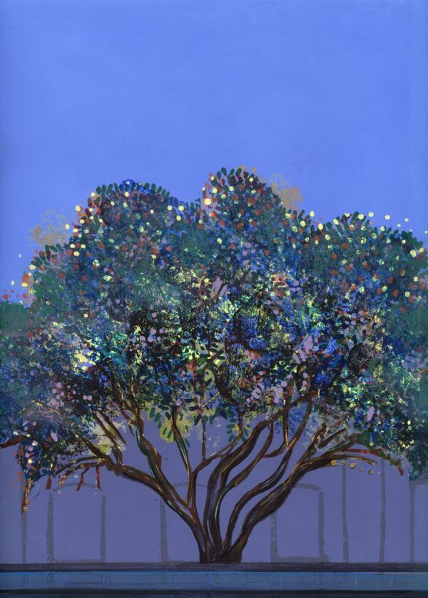 Graphic Studio Dublin: Bernadette Madden, Ghost Tree