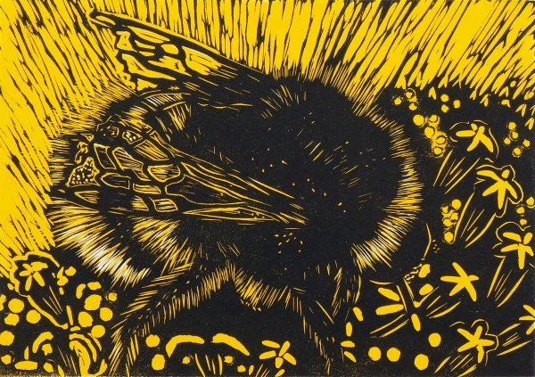 Graphic Studio Dublin: Mary Grey, A greedy bee