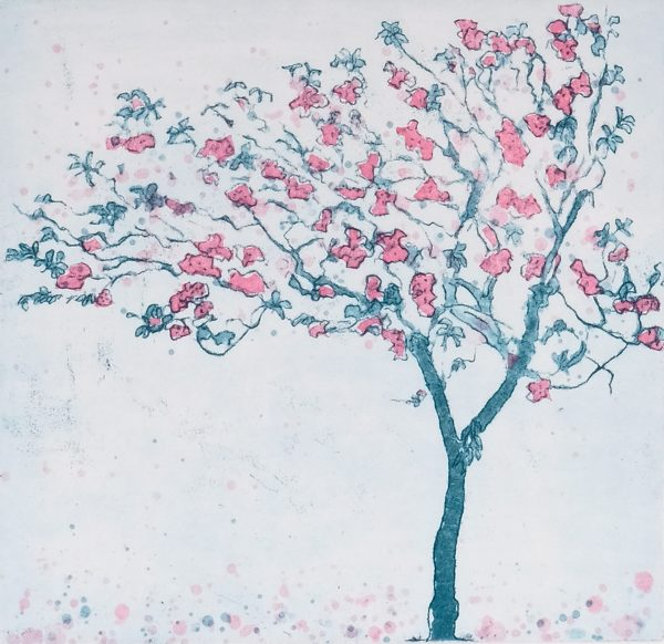 Graphic Studio Dublin: Mary Grey, Cherry Blossom