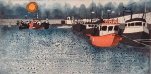 Graphic Studio Dublin • Mary Grey: Graphic Studio Dublin: Skerries Harbour VII