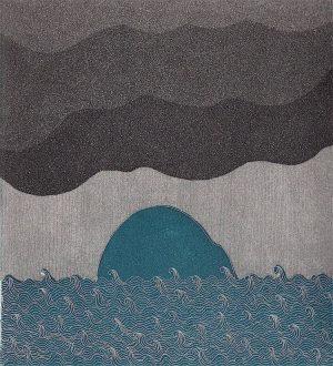 Graphic Studio Dublin •Yoko Akino: Graphic Studio Dublin: Rain is coming, Yoko Akino