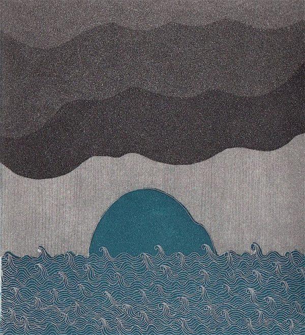 Graphic Studio Dublin: Rain is coming, Yoko Akino
