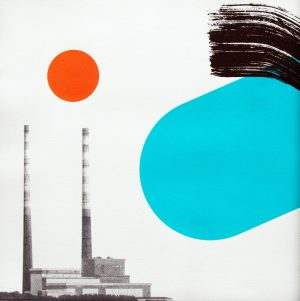 Graphic Studio Dublin • Shane O'Driscoll: Graphic Studio Dublin: Poolbeg Sweep (SOLD)