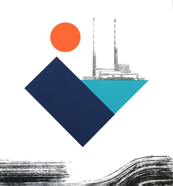 Graphic Studio Dublin: Shane O'Driscoll, PoolbegTowers