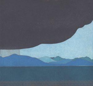 Graphic Studio Dublin •Yoko Akino: Graphic Studio Dublin: Storm gathering, Greenore