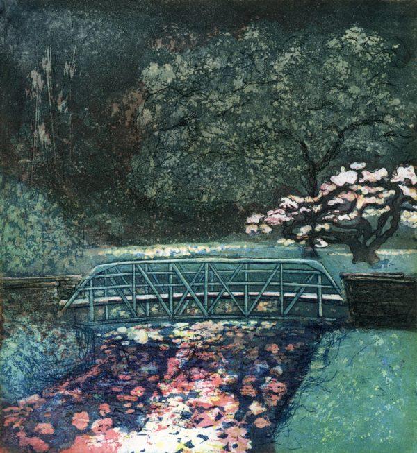 Graphic Studio Dublin: Elke Thönnes, Bridge over the Ribbon Lake