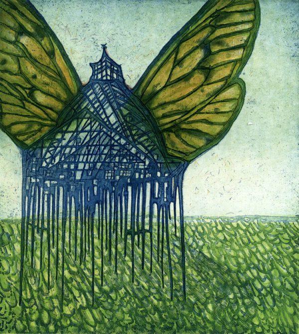 Graphic Studio Dublin: Ah! a butterfly, Vaida Varnagiene