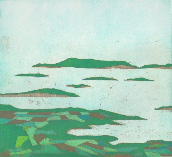 Graphic Studio Dublin: Yoko Akino, View from Mount Gabriel