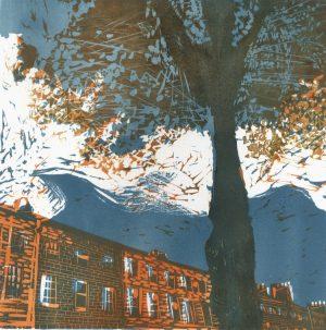 Graphic Studio Dublin •Marta Wakula-Mac: Graphic Studio Dublin: Mountjoy Square