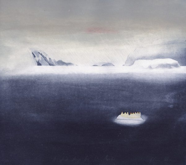 Graphic Studio Dublin: Clare Henderson, A ghost ship for the arctic