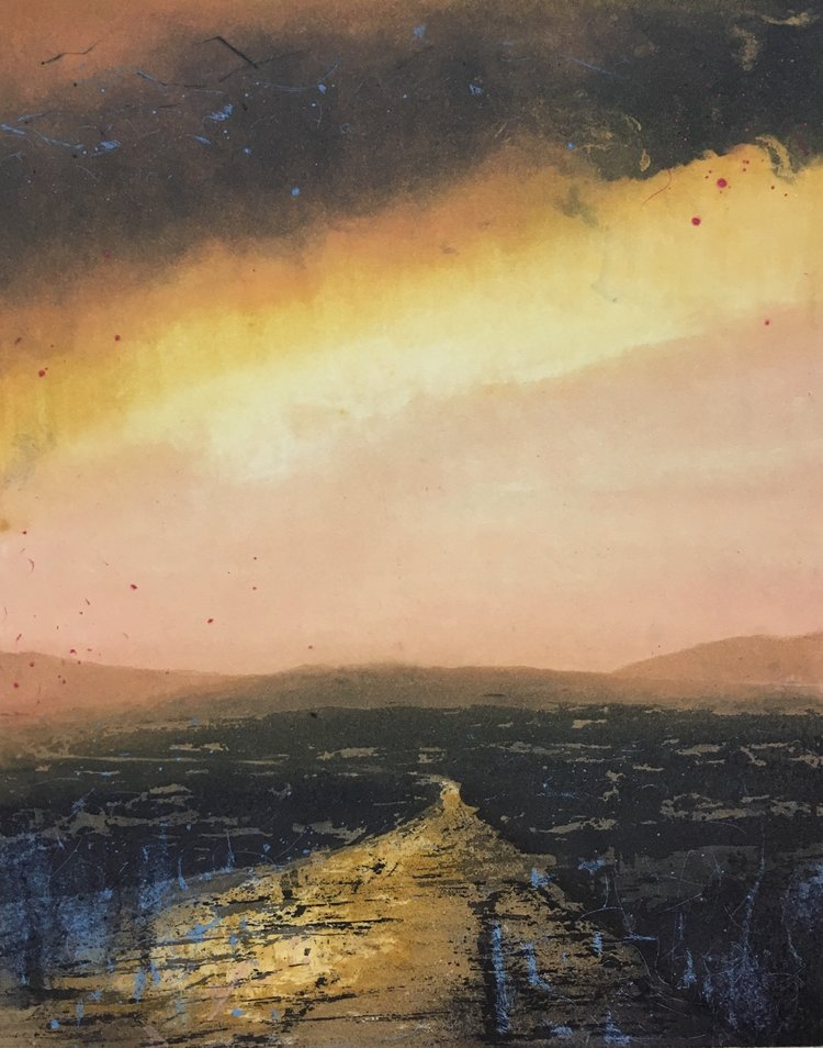 Graphic Studio Dublin: Ailbhe Barrett, Towards Errigal