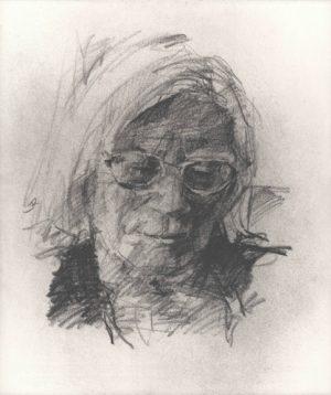 Graphic Studio Dublin: Colin Davidson, Portrait of Jennifer Johnston