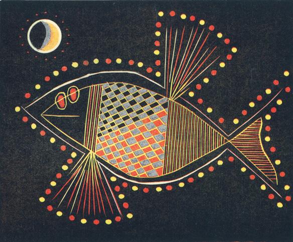 Graphic Studio Dublin: Jennifer Lane: MoonFish