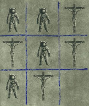 Graphic Studio Dublin • Kelvin Mann: Graphic Studio Dublin: Astronauts & Crosses