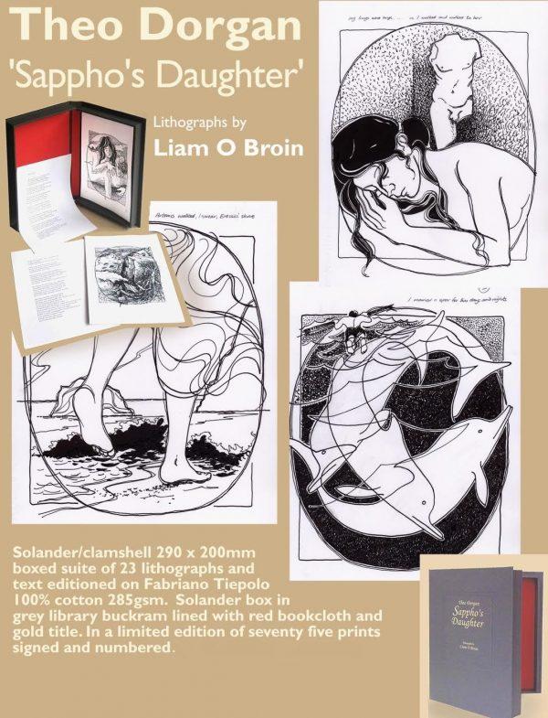 Graphic Studio Dublin: Theo Dorgan & Liam O Broin, Sappho's Daughter