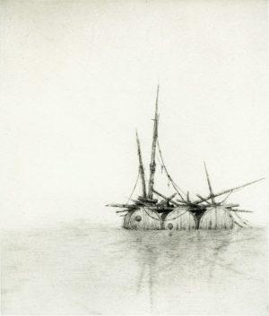 Graphic Studio Dublin •Lars Nyberg: Lar Nyberg, Raft