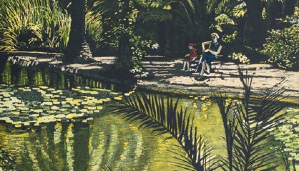 Jardins de Alfábia Edition of 30 Etching and Aquatint Image Size: 38h x 28w cm Paper Size: 57h x 44w cm €390 unframed