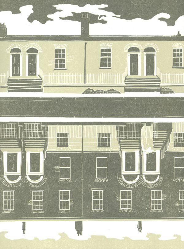 Mary Plunkett_Before the new red houses_2013_lino_(43cmx31cm)_43cmx31cm_0_€115 (1)