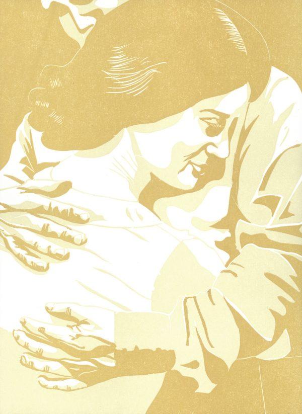 Mary Plunkett_Perhaps, love too_2013_lino_(43cmx31cm)_43cmx31cm_0_€115 (1)