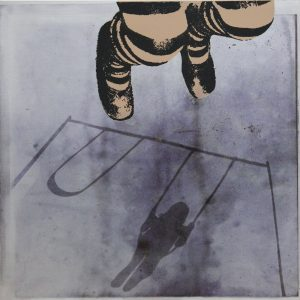 NiamhMcGuinne_Another Push More_2012_thermal transfer screen print on aluminium_(40cmx40cm)_275euro