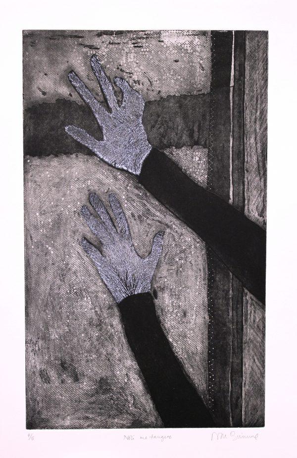 NiamhMcGuinne_Noli me tangere_2015_etching on paper_(50cmx30cm)_63.4x41.5cm_6.5cm_250euro (1)