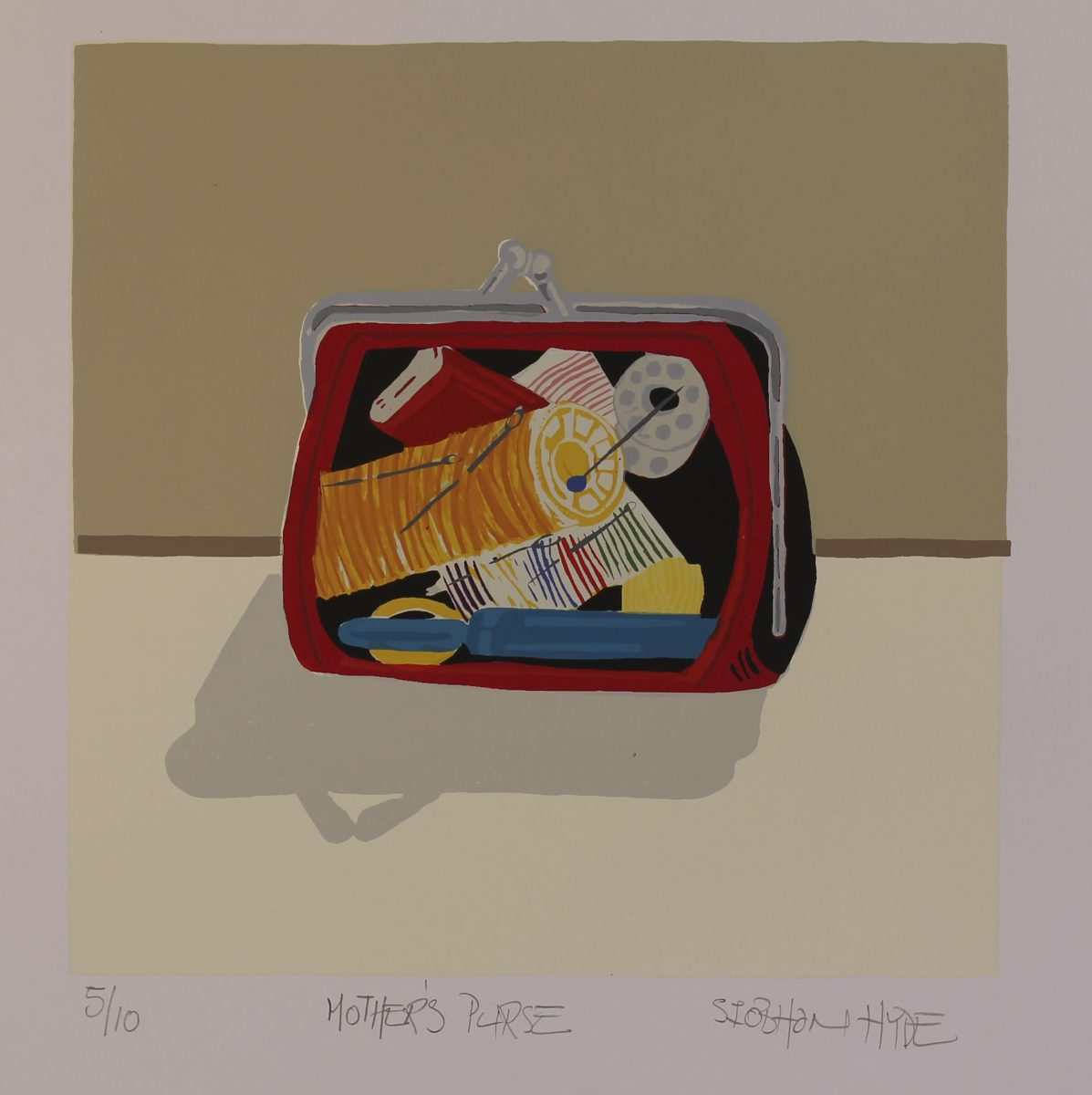 Siobhan Hyde, Mother's purse