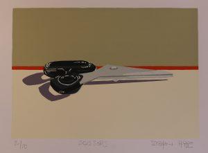 Graphic Studio Dublin •Siobhan Hyde: Scissors