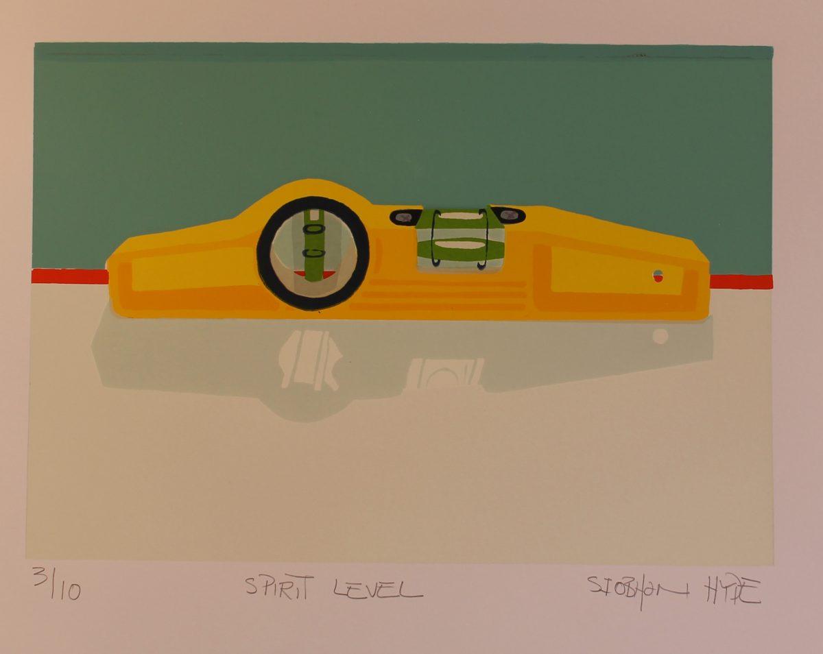 Graphic Studio Dublin: Siobhan Hyde, Spirit Level