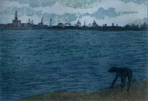 Vaida Varnagiene, Dog and sea