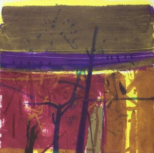 Graphic Studio Dublin • Barbara Rae: Barbara Rae Favorot Vine Carborundum Ed. of 20 77cm x 78cm Unframed: €2700