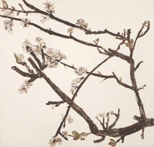 Graphic Studio Dublin •Cliona Doyle: Pear Blossom